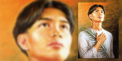 A Filipino Sunday Mass, simbang gabi, philippine catholicity, filipino catholic, filipino catholics, filipino saint, religiosity, patriotism, San Lorenzo Ruiz, the second filipino saint, Catholic church, Catholicism in southeast Asia, The Philippines, Pope John Paul II