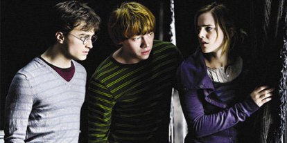 Harry Potter Cast, nostalgic harry potter forever, Harry Potter trio - Ron Weasley and Hermione Gringer, Best scene of Harry Potter, movie screenshot, best times of friendship, best Harry potter scene in all movies