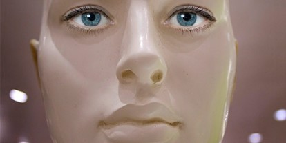 Kids + Robot, kids plus robots, robot friend, robot parent, robot humans, robot is human replacement, shiny robots look like human, robot with human features, robot in human face