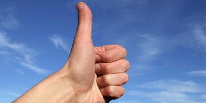 thumbs up to the sky, beautiful hand, nice