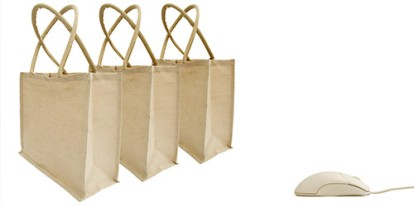 online shopping, best seals online shopping, awesome online shopping, internet bargains, three brown bags, green technology