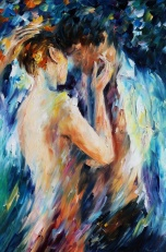 Leonid Afremov's Painting, forms of artwork, romantic art painting, art appreciation, painting for house, art for you, people and art
