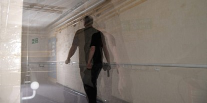 ghosting, ghosts, security guard spirit, paranormal ground, photoshop and photography effects