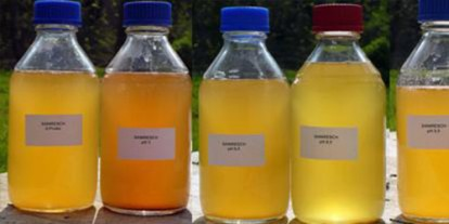 Urine storage, different kinds and colors of urine, urine drink, urine therapy
