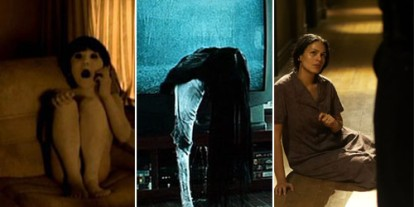 Photos are screenshots from Ju-on, Ringu and The Echo, Ju-on, ringu, the echo movie screenshots, asian vs american films, art, most scariest films, asian horror flick, Iza Calzado international