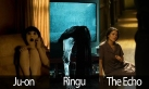 Ju-on, ringu, the echo movie screenshots, asian vs american films, art