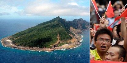 war between china and japan, world war III 3, senkaku island, asia, southeast asia, oppression, Chinese citizens protest