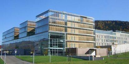 Justizzentrum Leoben, modern and futuristic facilities for a prison, good life inside the prison in Austria